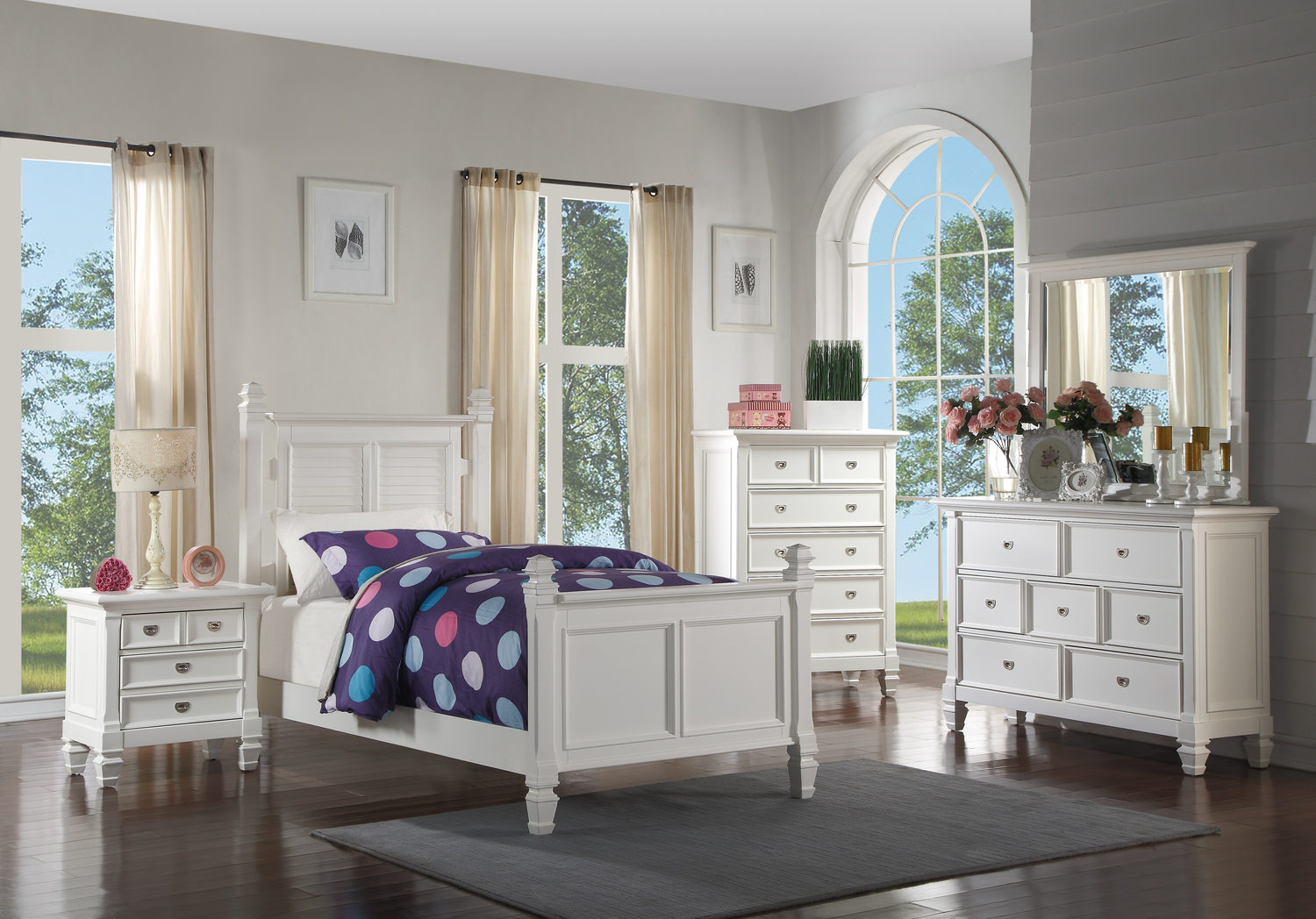 Summer Breeze Bedroom Suite By Thomas Cole Hom Furniture