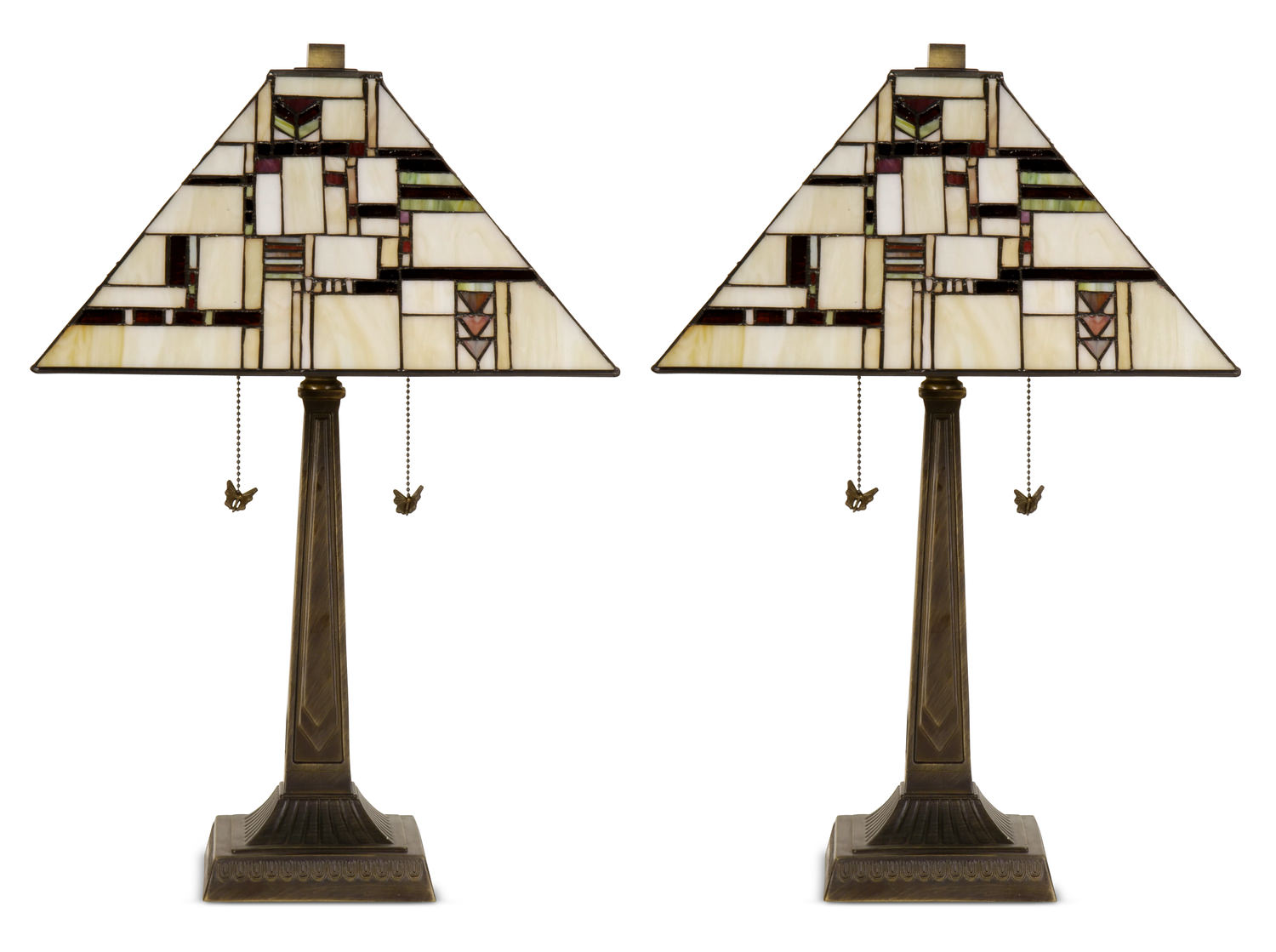 Milton Mission Table Lamp   Buy One, Get One Free!