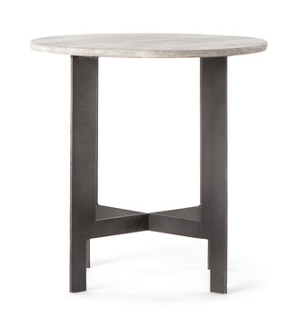Occasional End Tables Gabberts Design Fine Furniture - Round end table with doors