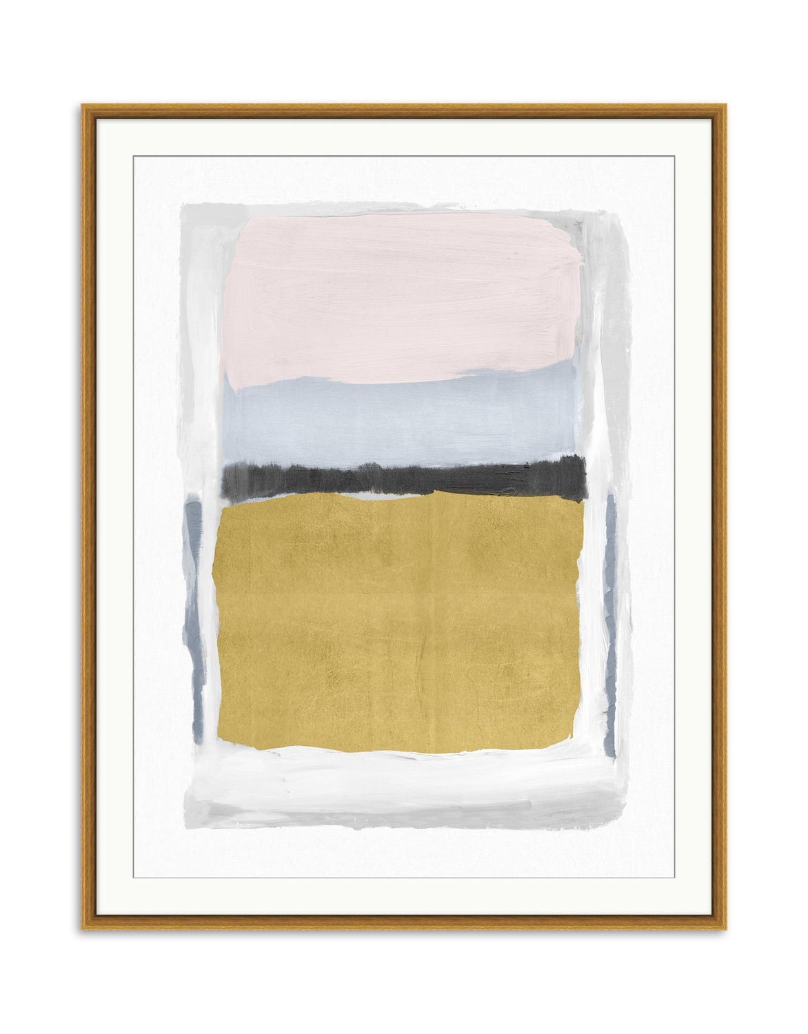 Pink and Gold 3 Wall Art | Gabberts