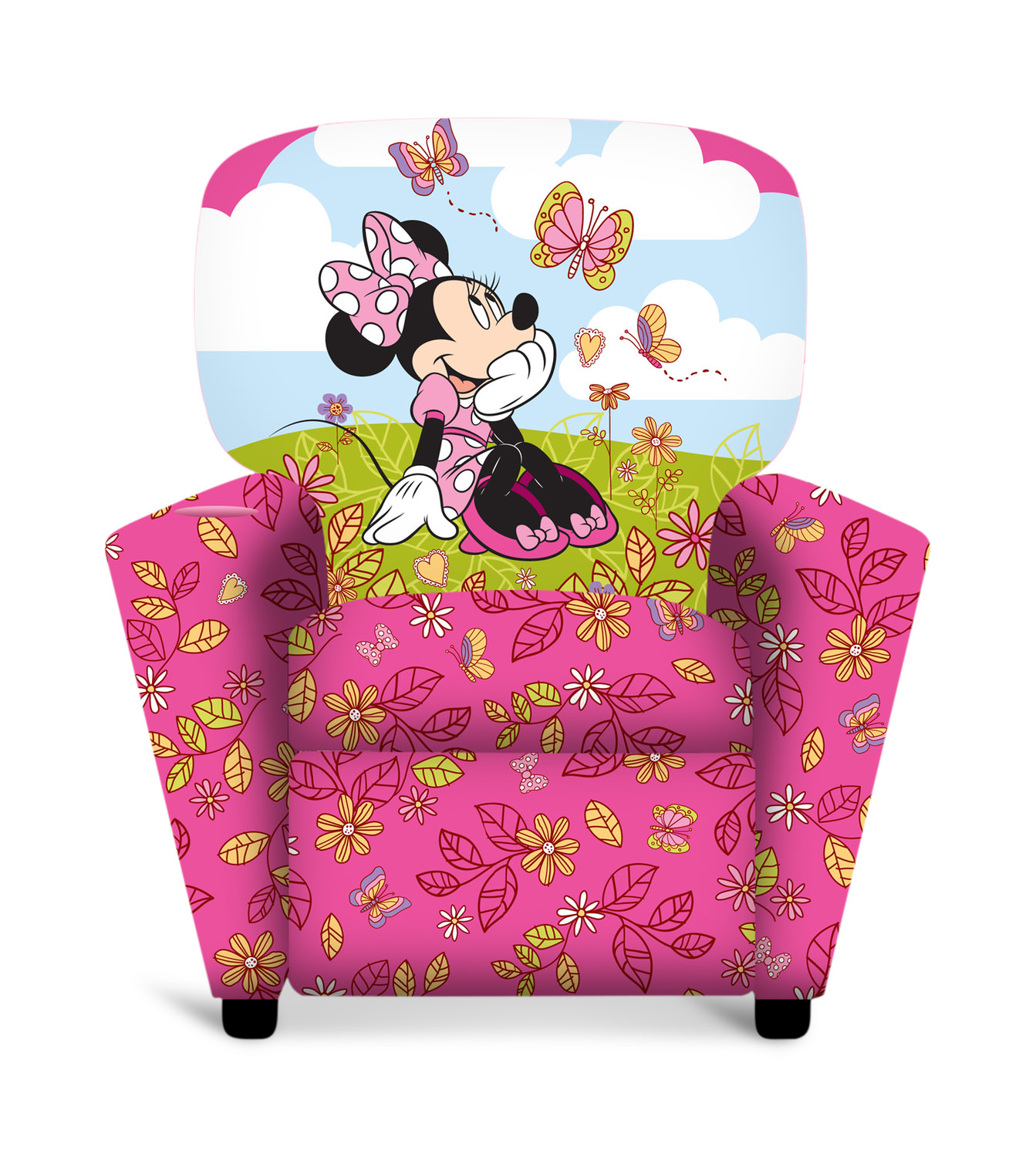 Fantastic Minnie Mouse Kids Recliner Alphanode Cool Chair Designs And Ideas Alphanodeonline
