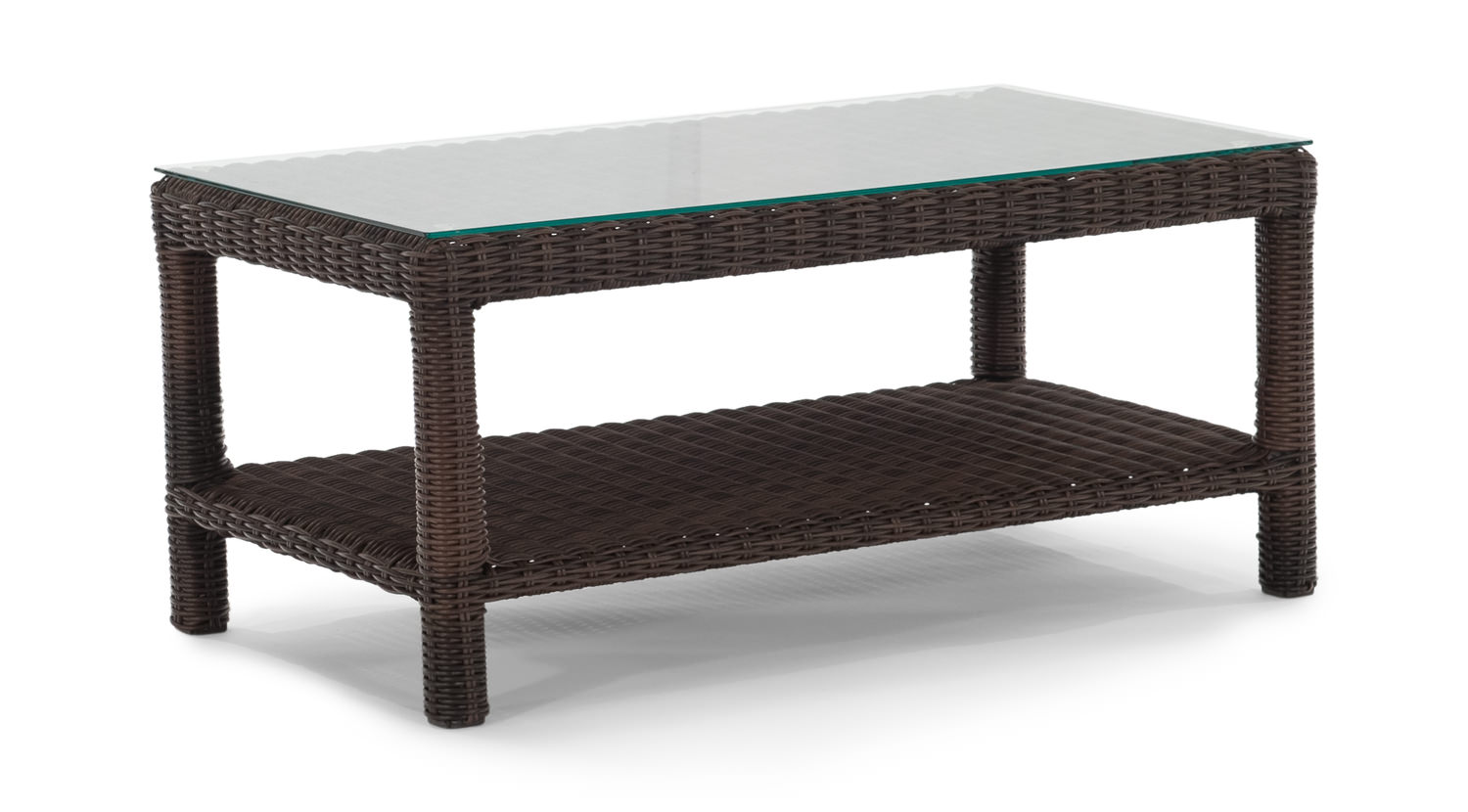 Cana Coffee Table Outdoor Wicker HOM Furniture Furniture