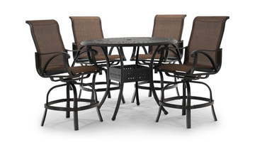 Charmant Image San Tropez 5 Piece Balcony Set