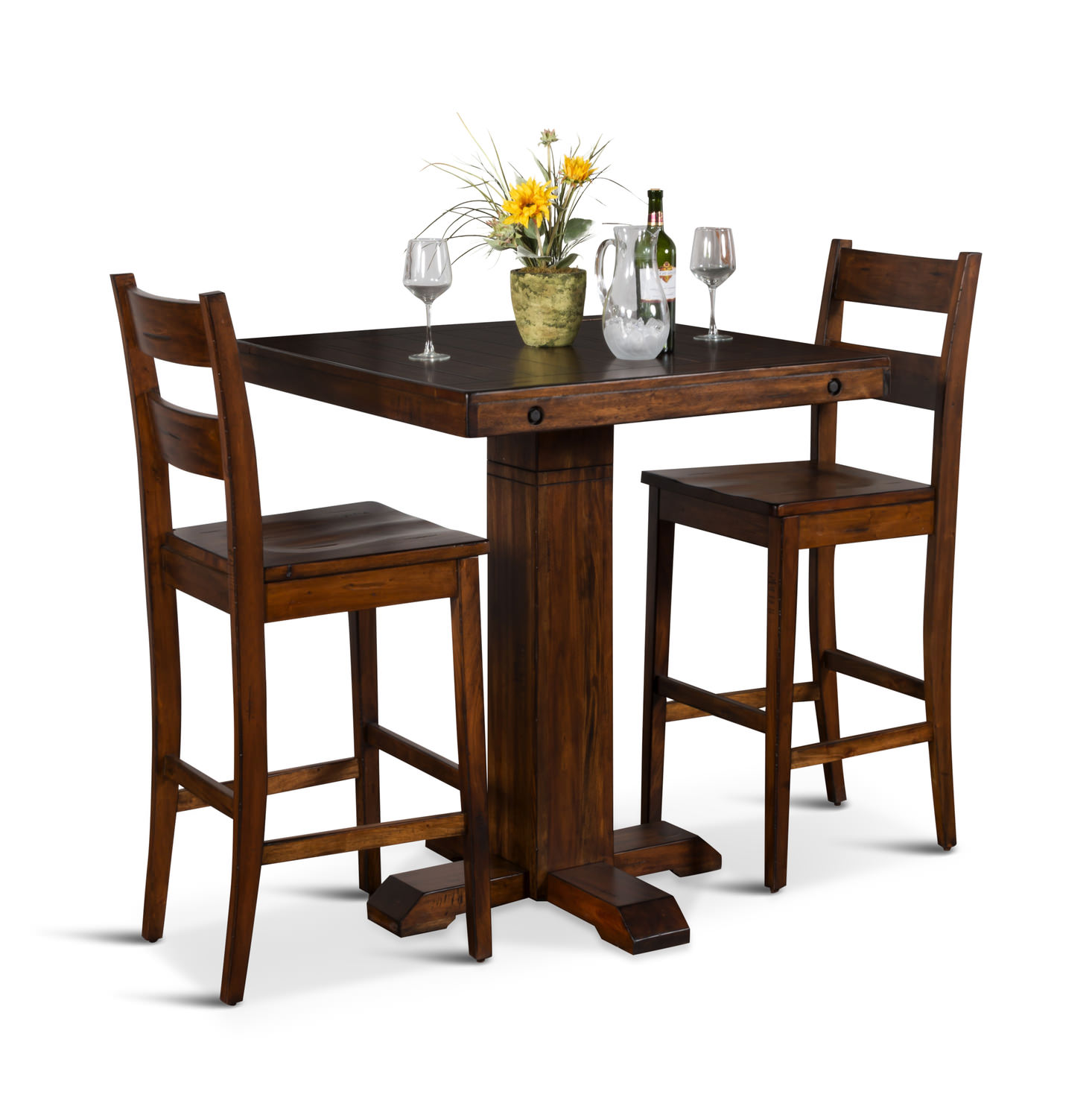 100 dining room sets with matching bar stools for Dining room sets with matching bar stools