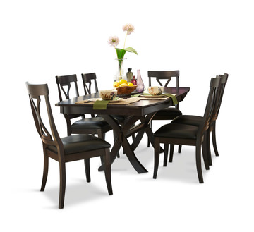 Midtown Dining Table With 4 Hom Furniture Furniture Stores In Minneapolis Minnesota Midwest