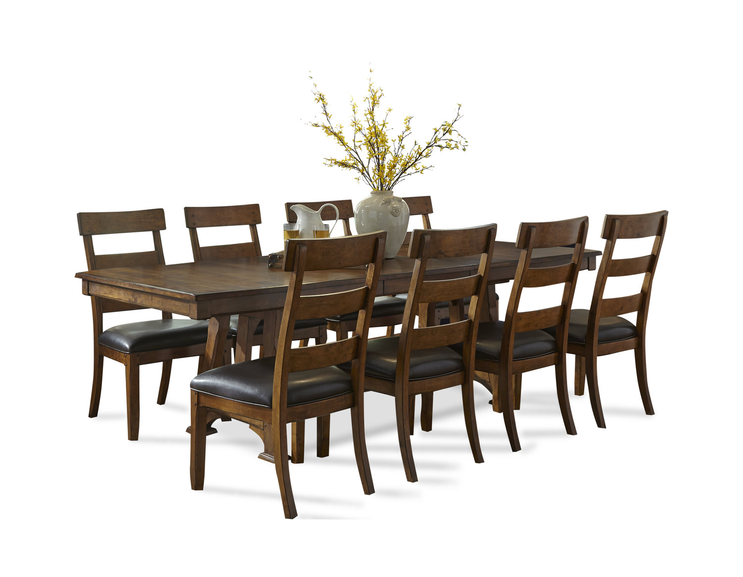 Ozark Table With 4 Side Chairs ...