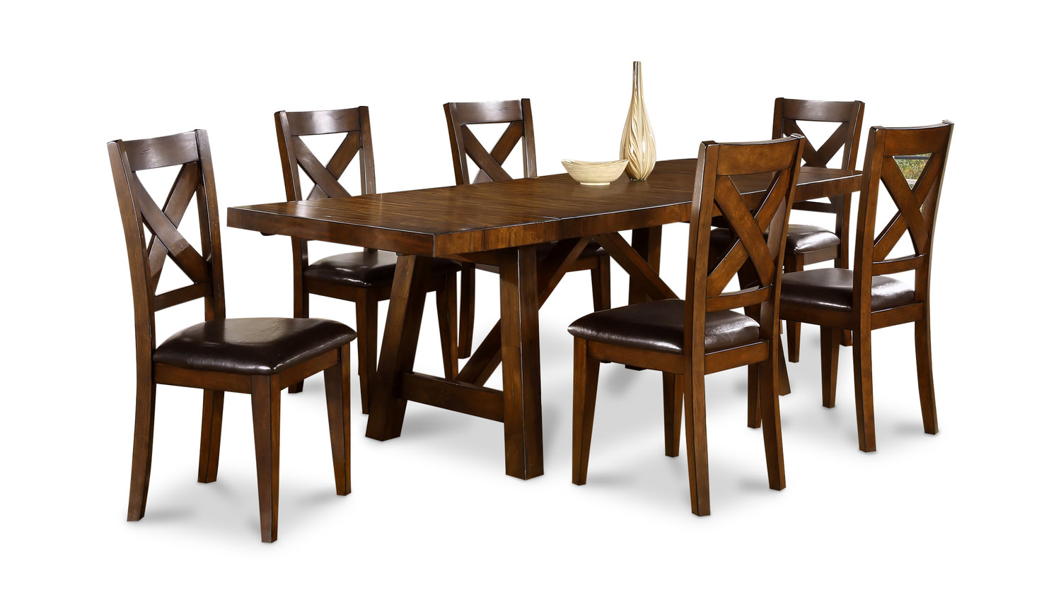 Colonial Table With 6 Chairs By Thomas Cole Hom Furniture