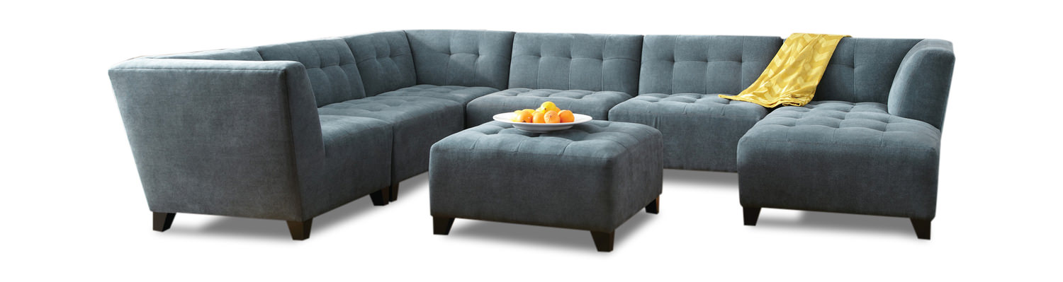 6 Piece Modular Sectional Sofa Modular Sectional Vendome Sofa Z Gallerie - TheSofa