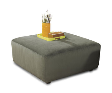 Attrayant Image Coach Square Cocktail Ottoman   Pewter