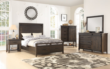 Image Urban Barn Queen Storage Bedroom Suite