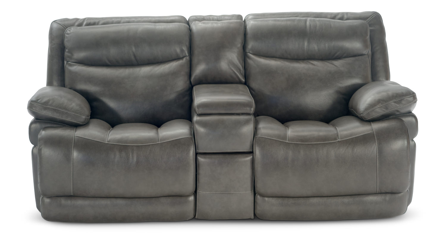 Rally Leather Power Recline Loveseat with Console ...  sc 1 st  HOM Furniture & Rally Leather Power Recline Loveseat with Console | HOM Furniture islam-shia.org