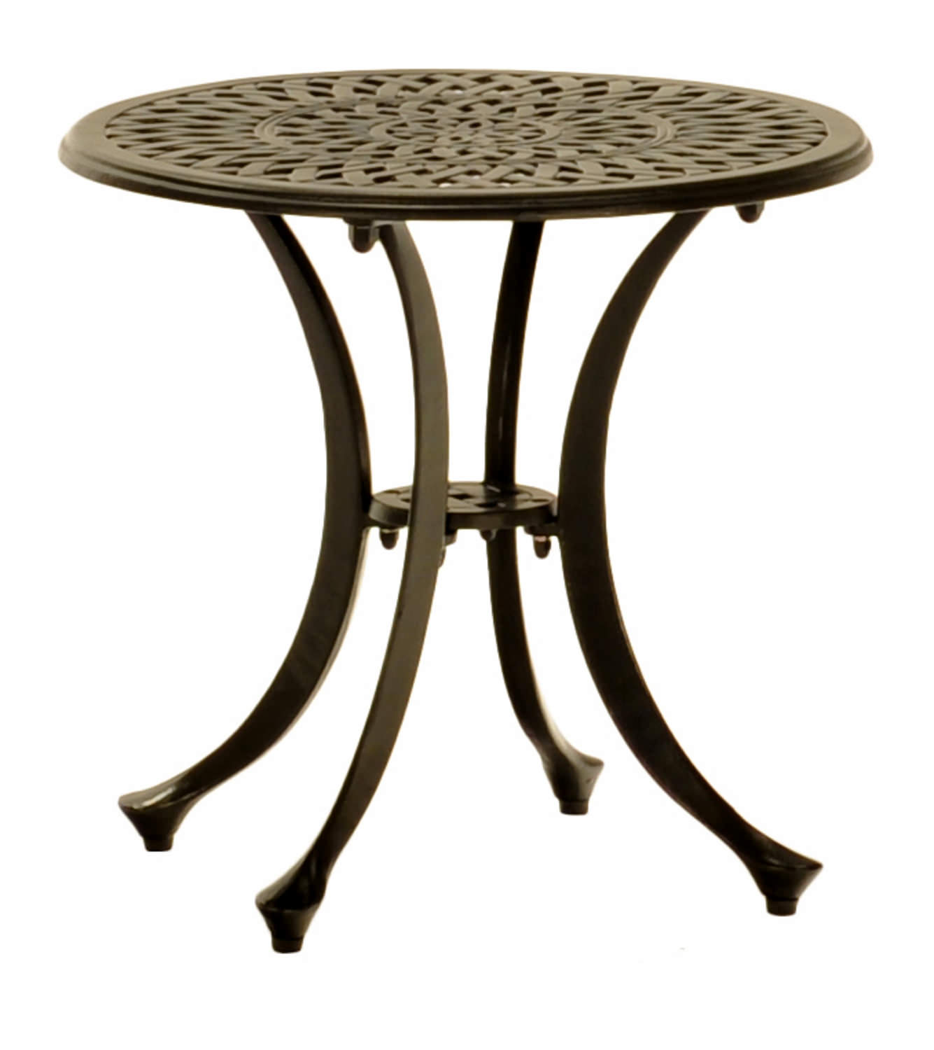 20u2033 Round Cast Aluminum Side Table : HOM Furniture : Furniture Stores in Minneapolis Minnesota ...