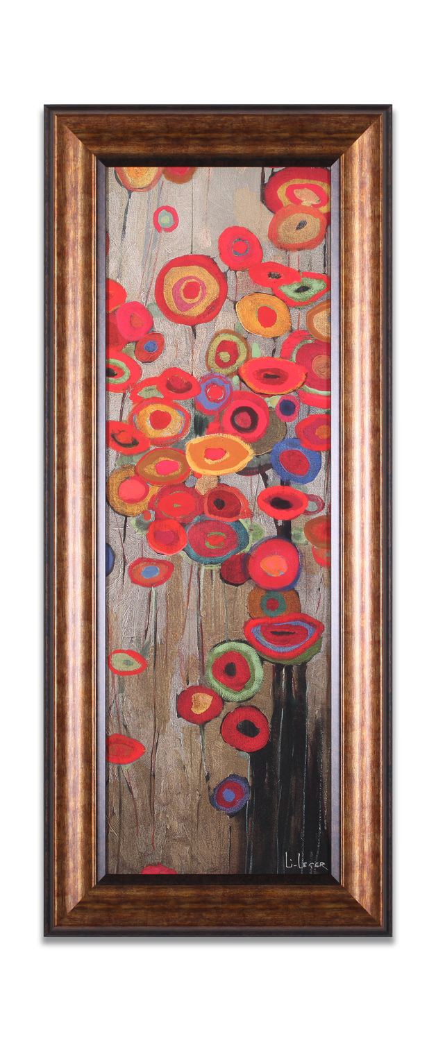 Garden Parade Ii Framed Wall Art Hom Furniture