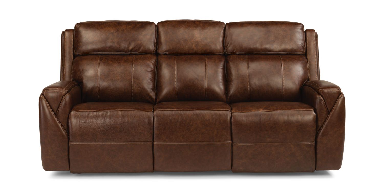 Maxus Leather Power Reclining Sofa ...