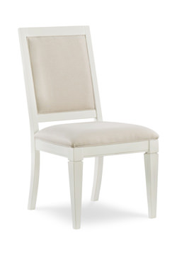 upholstered dining chairs contemporary image upholstered dining chair sea salt by rachael ray hom furniture
