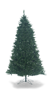 image washington pine 9 artificial christmas tree with multi color changing led lights