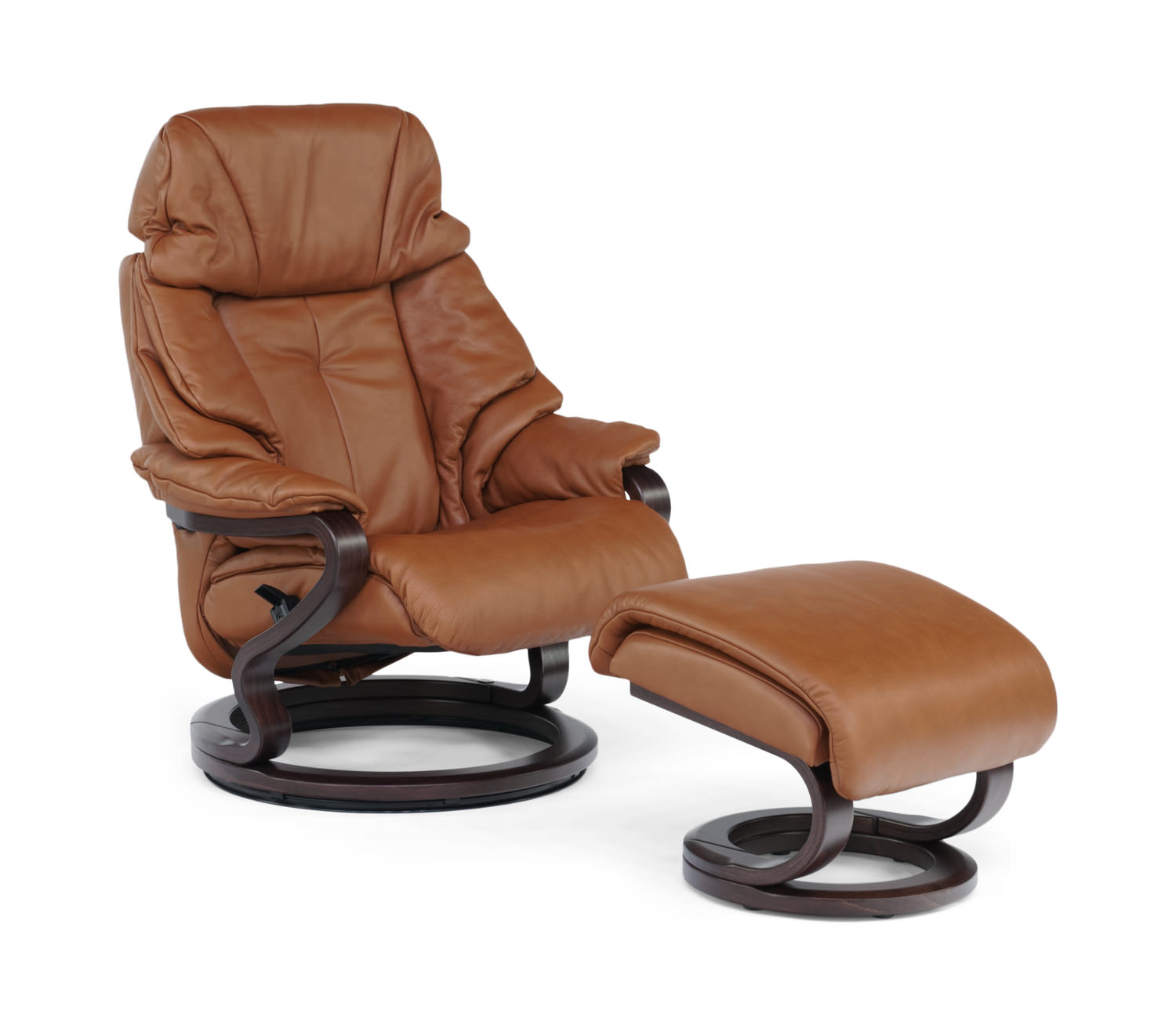 Inspirierend Himolla Zerostress Sammlung Von Palena Leather Swivel Recliner And Ottoman