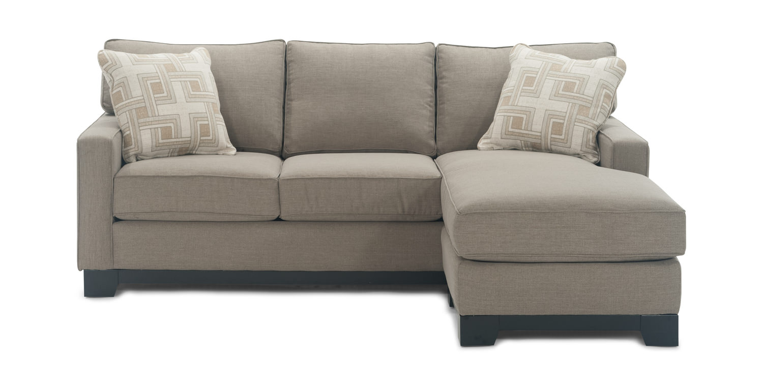 Gemini Sofa With Reversible Chaise
