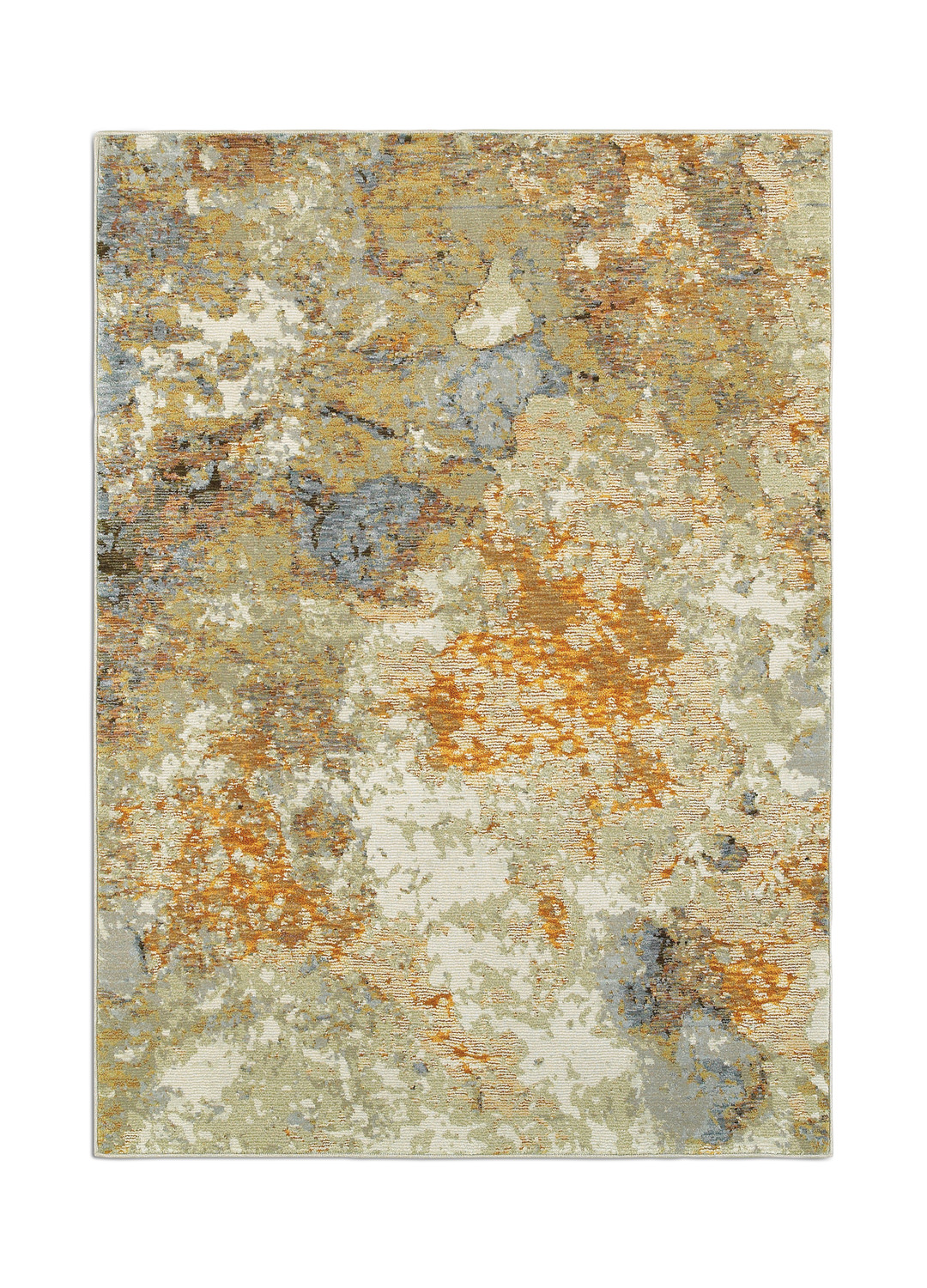 Evolution Pear Amber Area Rug