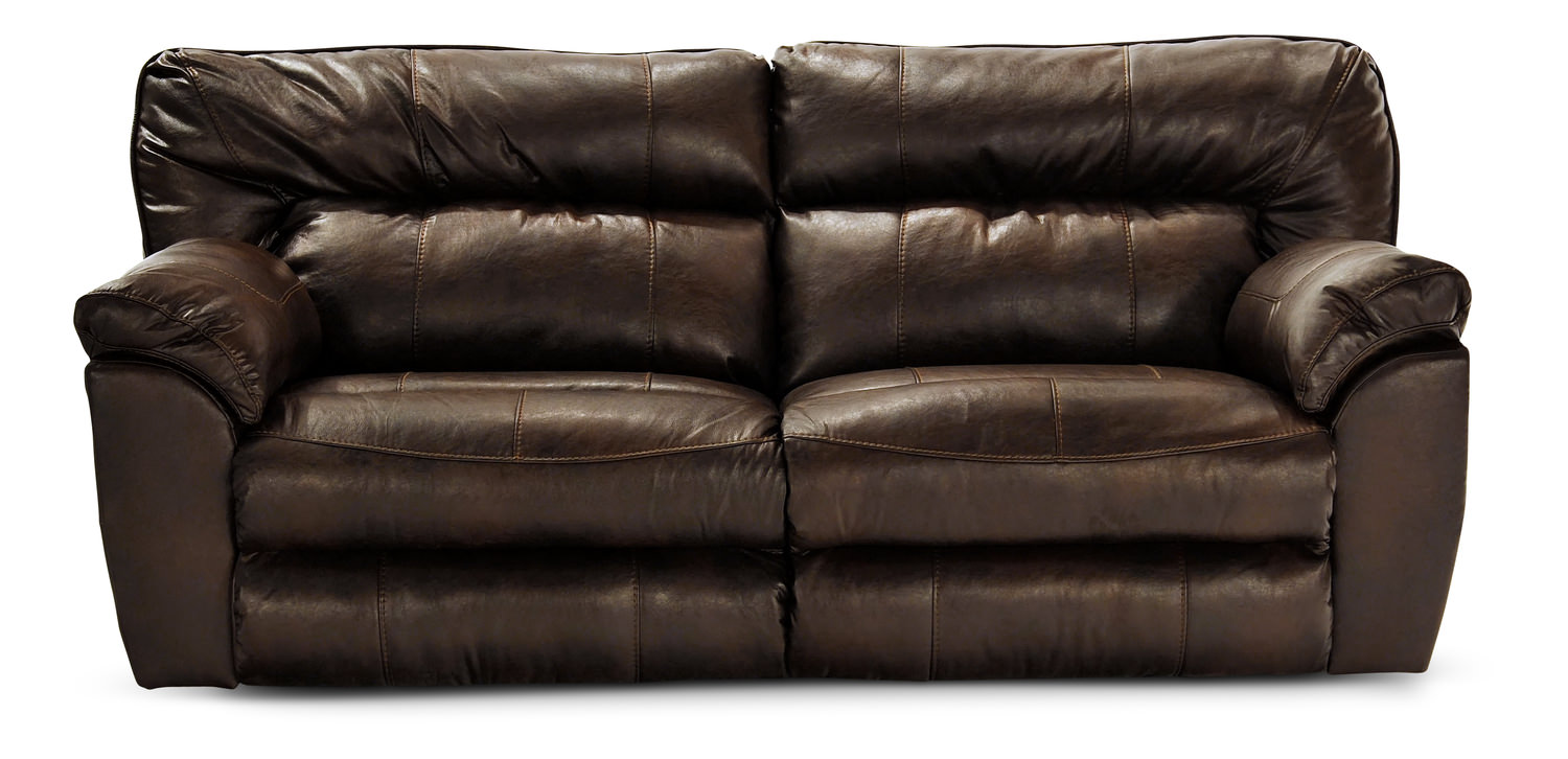 Reclining Sofa Chair Frontier Almond Reclining Sofa