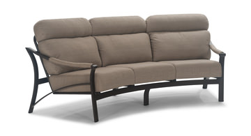 Image Corsica Crescent Sofa With Armrest Covers