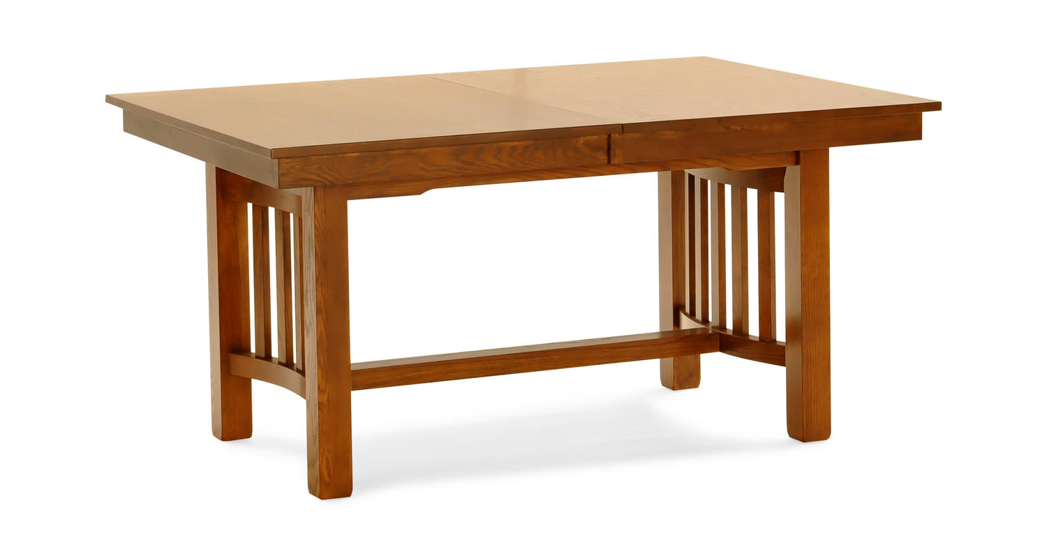 Laurelhurst Solid Oak Mission Dining Table By Thomas Cole Hom Furniture