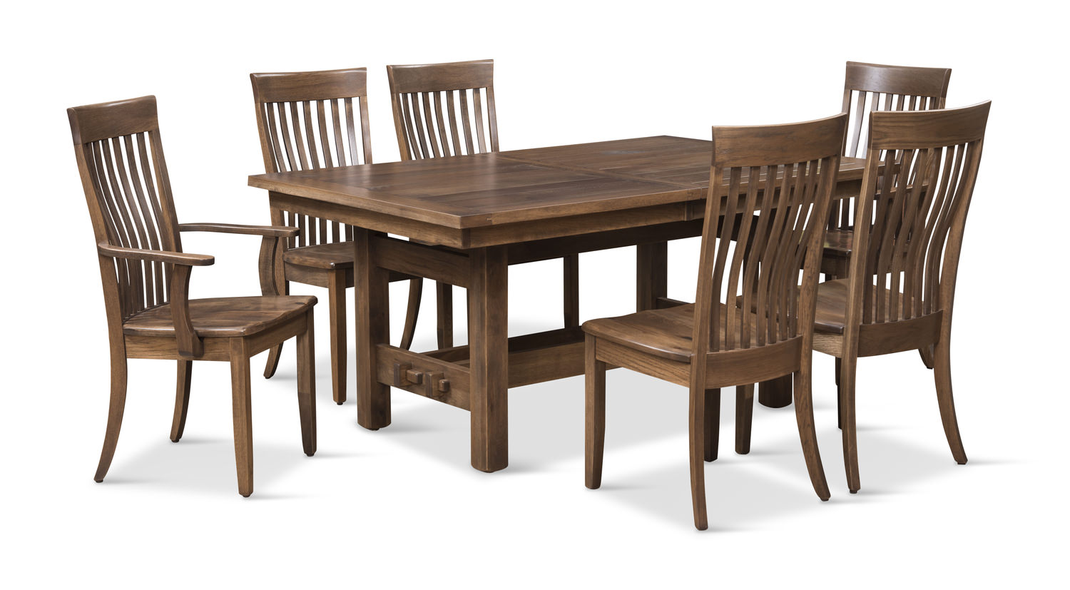 Sutter Mills Table And 6 Chairs