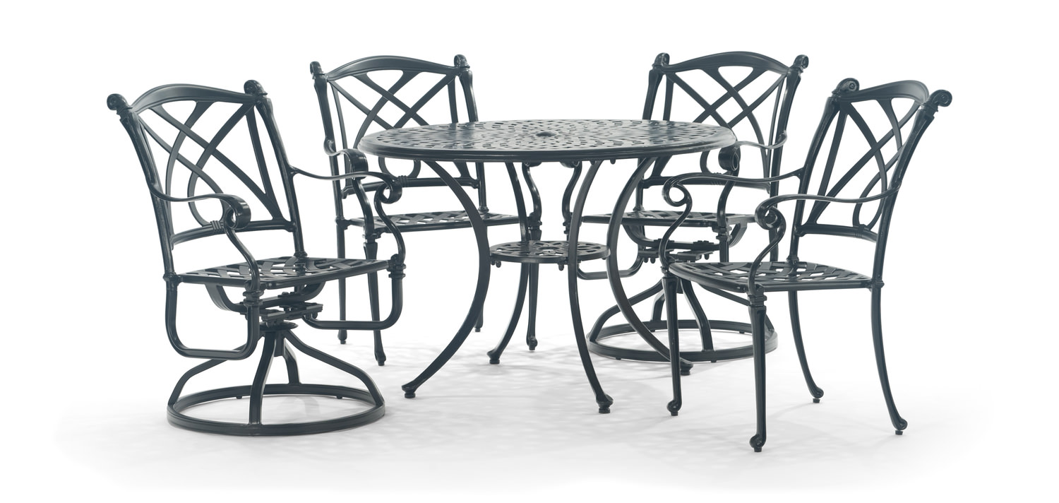 Napa 5 Piece Patio Dining Set By