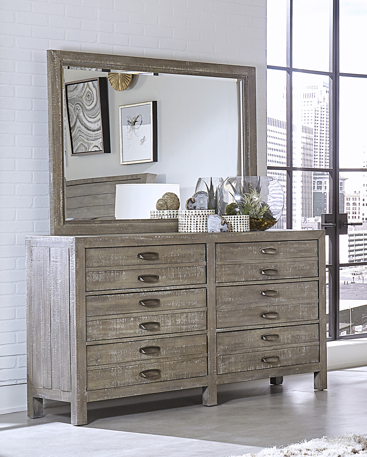 Pine ridge dresser by tambour bay hom furniture