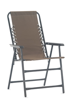 Image Oxford Folding Chair   Beige