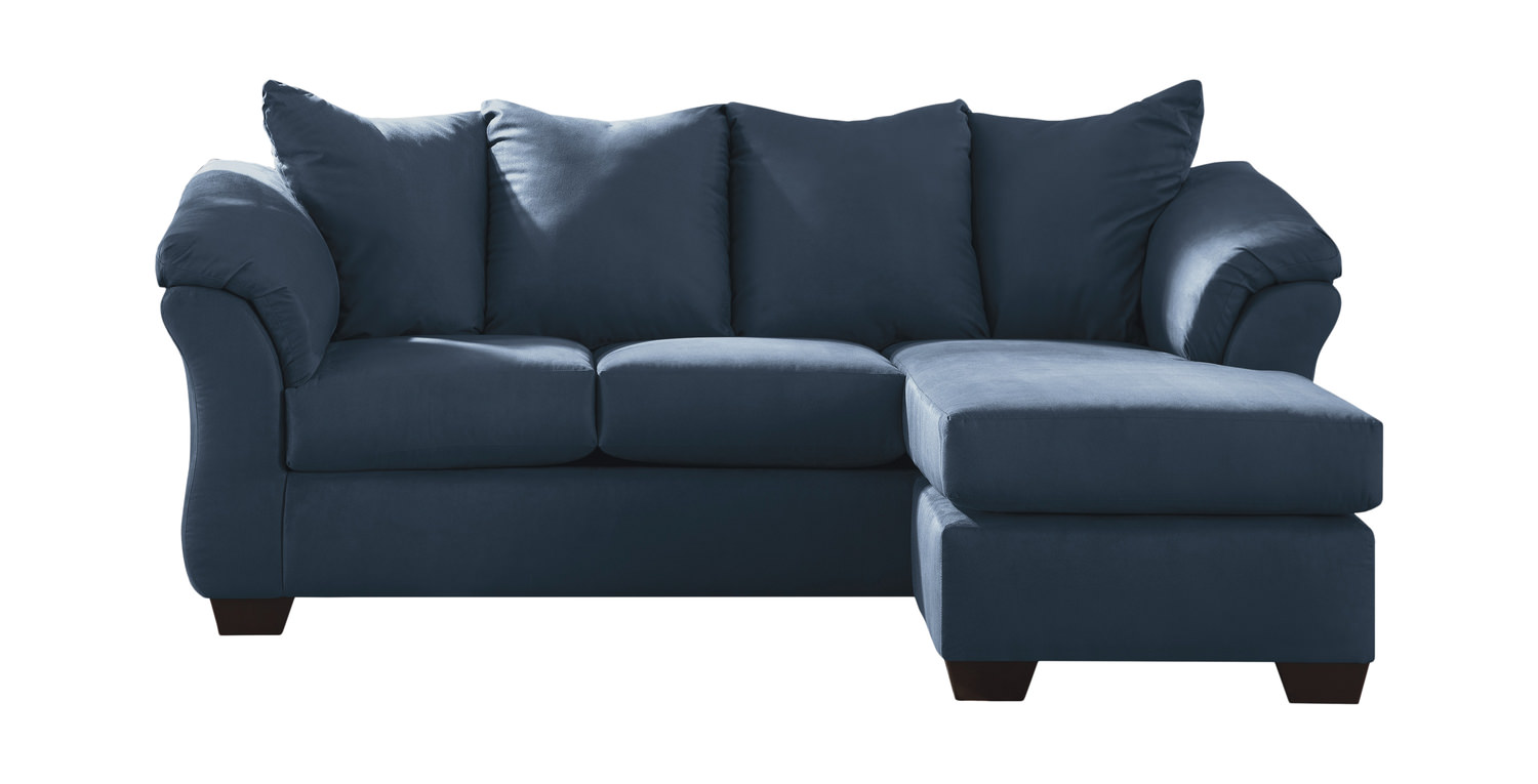 Almath Sofa With Reversible Chaise   Blue ...
