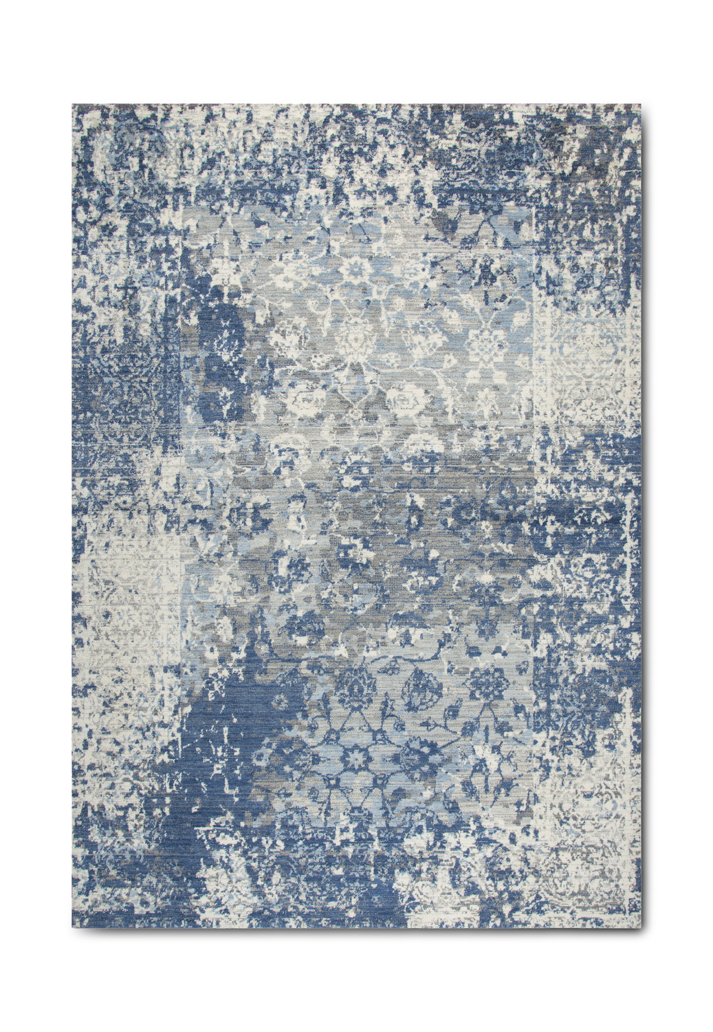 Gossamer Blue Grey Area Rug By Rizzy Rugs Hom Furniture