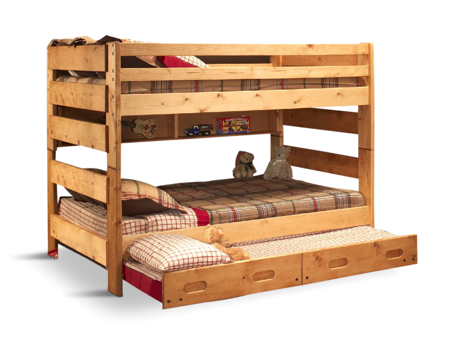 Big Sky F F Bunk Bed With Trundle Hom Furniture