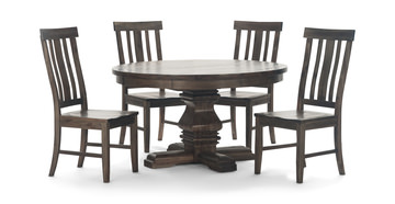 Image Dawson Round Table With 4 Chairs