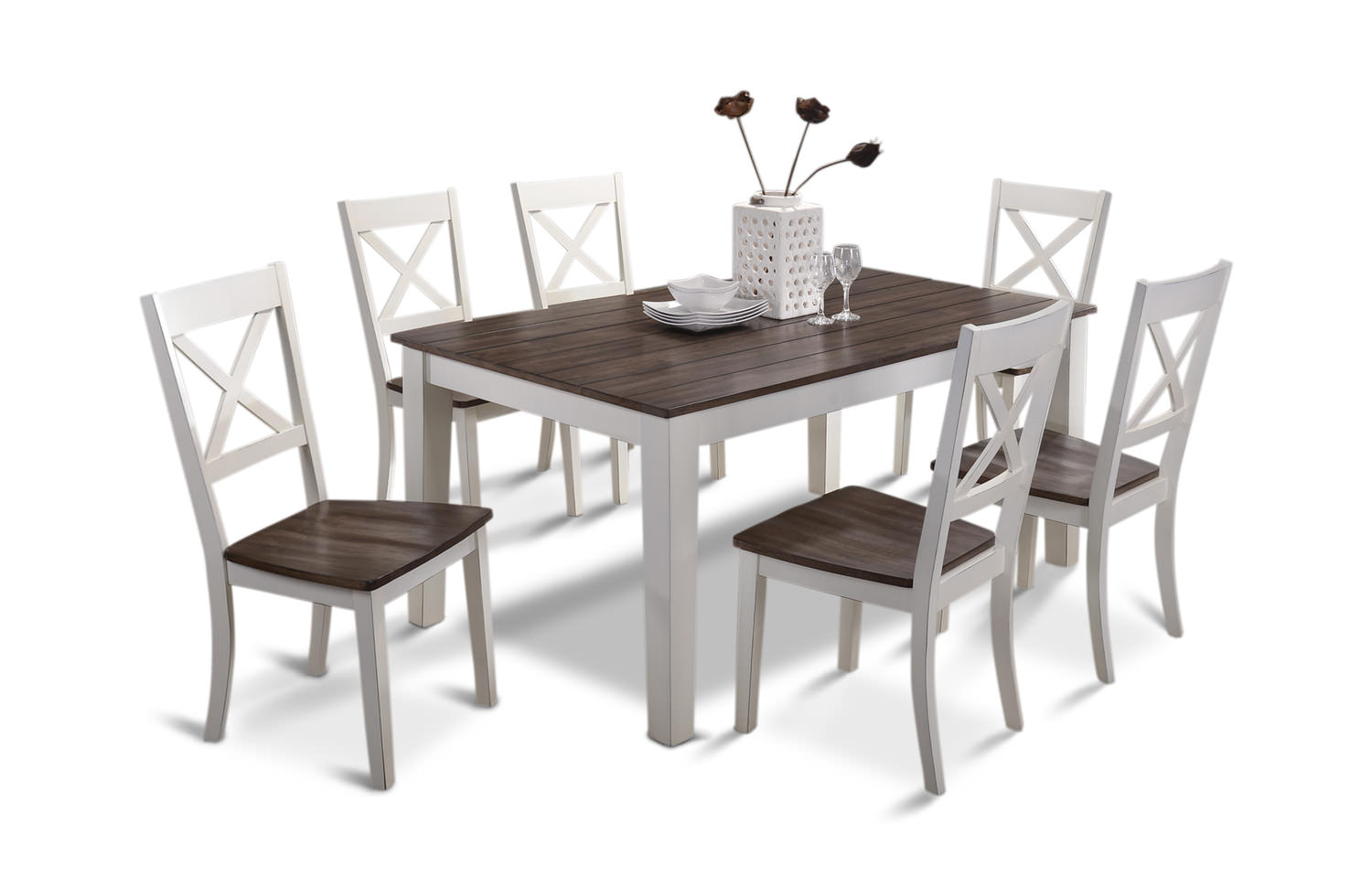 A La Carte Dining Table And 4 Chairs