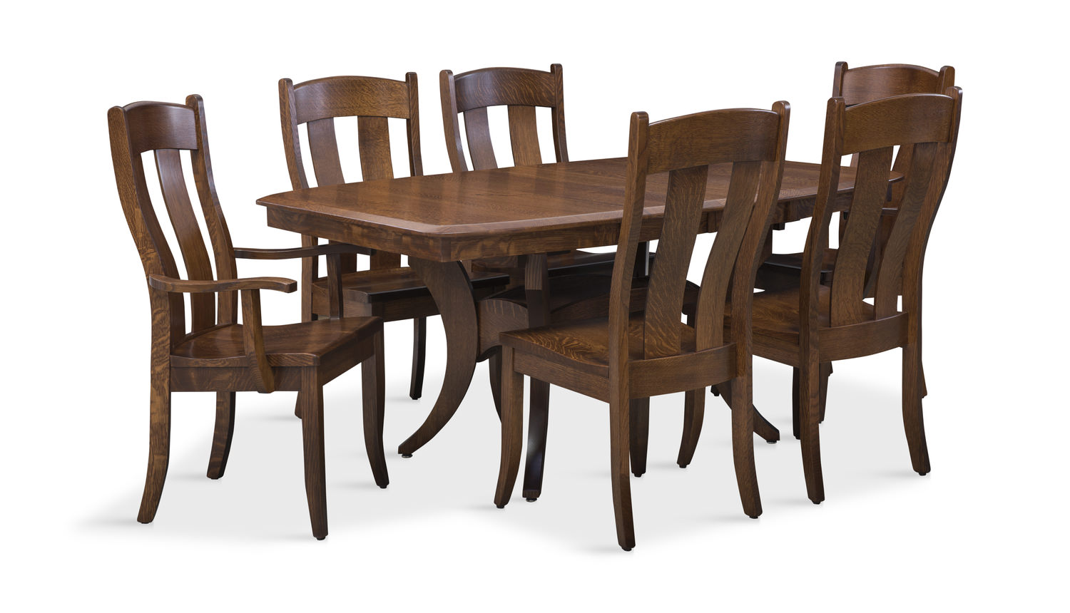 Fort Knox Trestle Table With 4 Side Chairs Rachael Ray Home Furniture With Hidden Compartments on