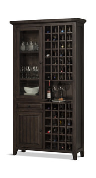 Image Tuscan Retreat Tall Wine Cabinet