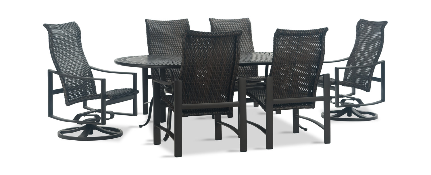 92bbf081a Kenzo 7 Piece Woven Patio Dining Set by | HOM Furniture