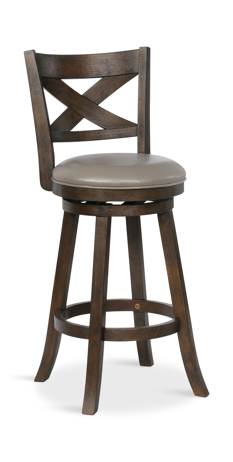 Kelsey X Back Swivel Stool Dock86