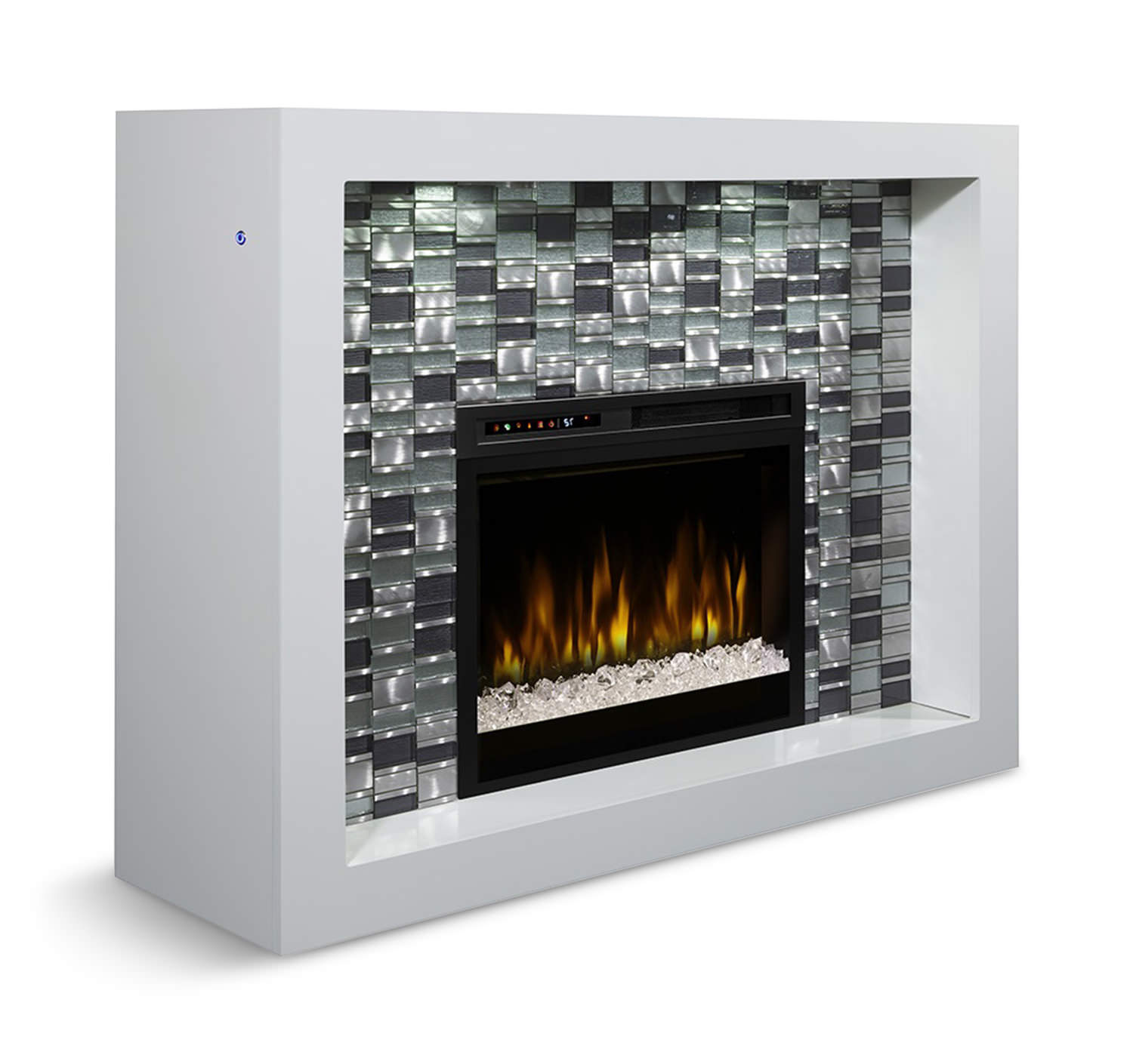 Crystal Electric Fireplace Hom Furniture
