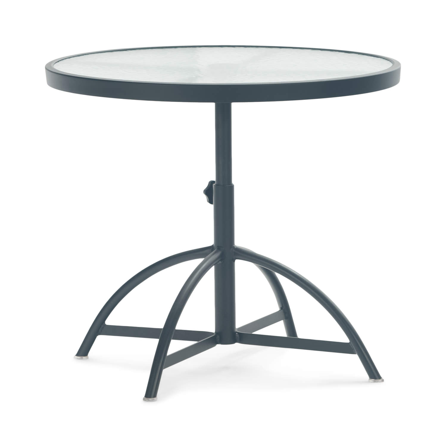 Aquatex Adjustable Glass Top Table   Onyx ...