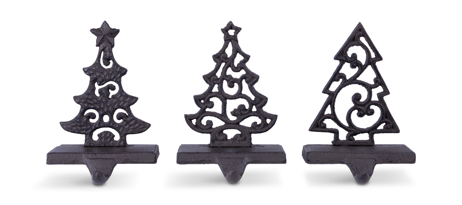 Metal Christmas Tree.Stocking Holder