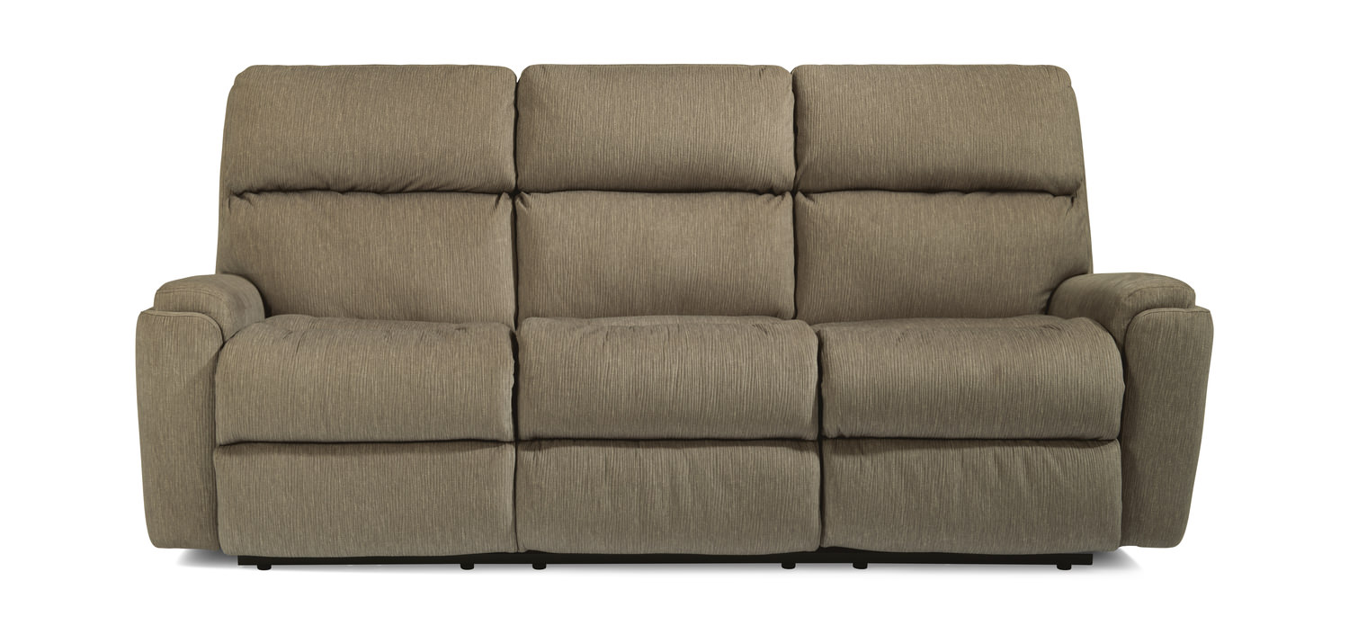 Cashmere Dual Reclining Sofa By