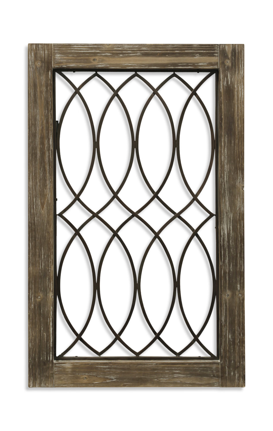 Vintage Window Curved Wall Art