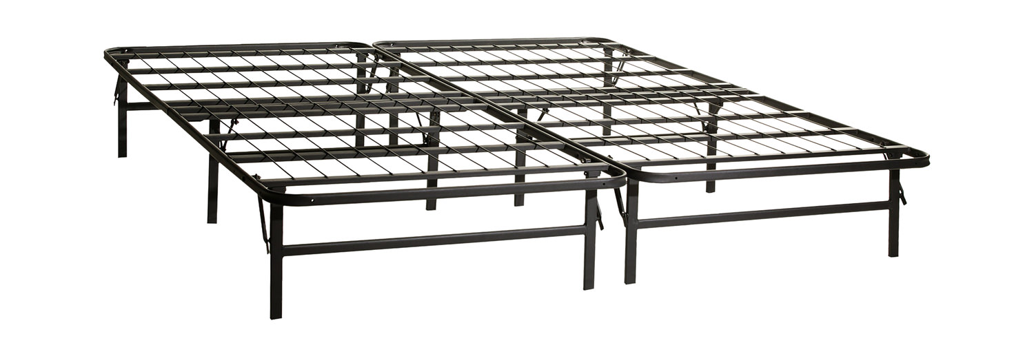 Highrise HD Pedestal Bed Frame by Malouf | HOM Furniture