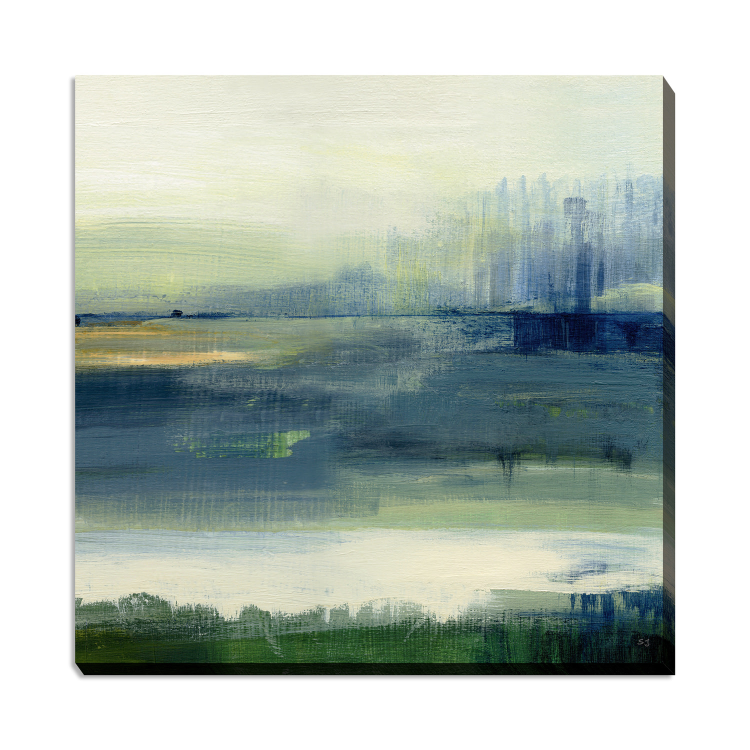 Glistening Meadow Canvas Art Dock86