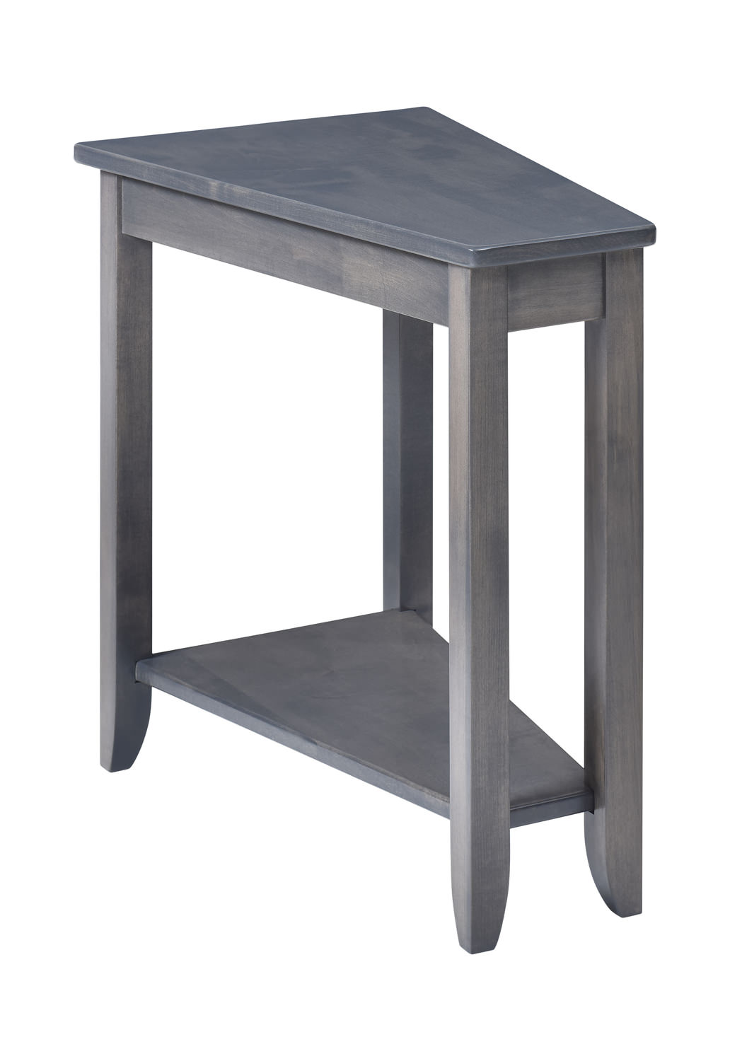 Amish Made Wedge Table Hom Furniture