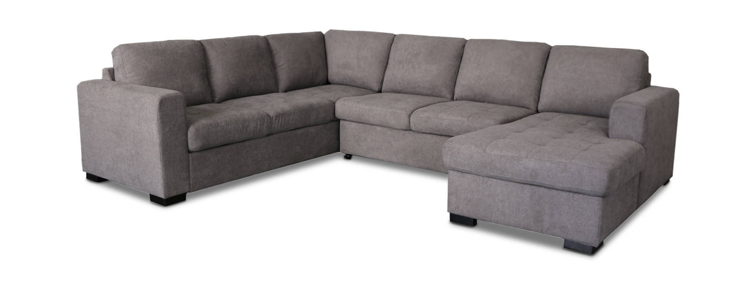 - Louden Sleeper Sectional With Storage Chaise DOCK86