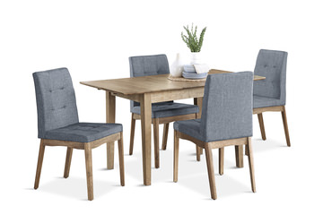 Image Madrid Dining Table With 4 Chairs