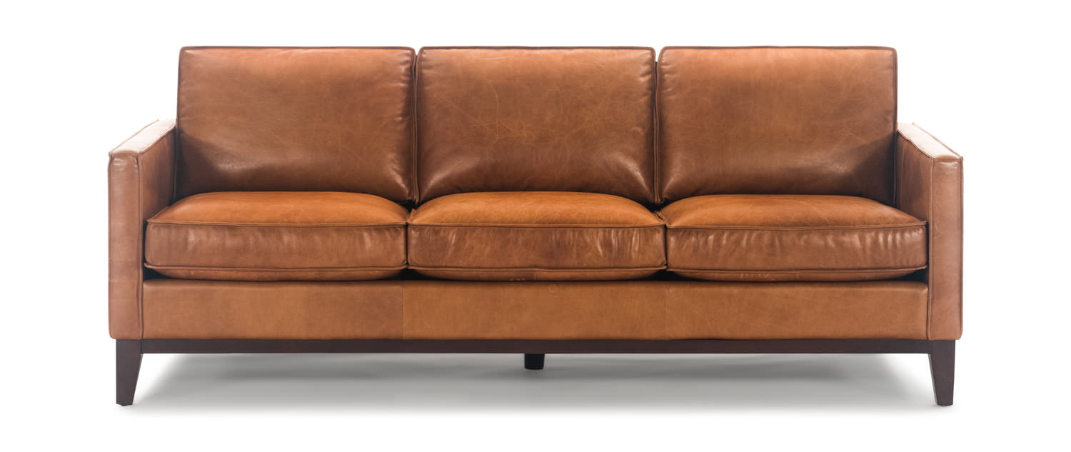 Thorpe Leather Sofa By Thomas Cole Designs Hom Furniture